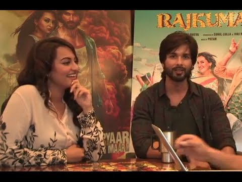 Shahid Kapoor & Sonakshi Sinha's first impression on each other - 'R...Rajkumar'