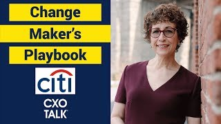 The Change Maker's Playbook and Innovation with Amy Radin (CXOTalk #318) thumbnail