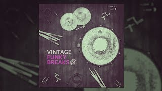 100 BPM Linear Funk Groove with Bongo Ostinato - Vintage Funky Breaks