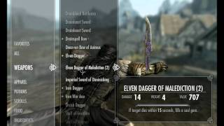 Skyrim - Shout Cheats - How to Get all 20 Shouts and No Cooldown Hack 1080p