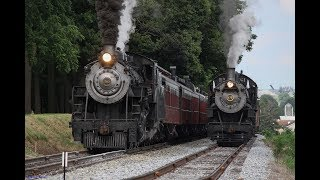 [HD] Norfolk & Western #475 Photo Charter On The Strasburg Railroad