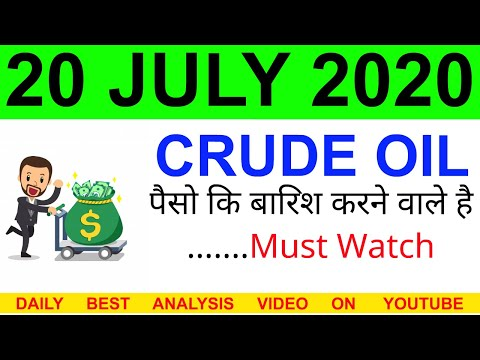 Crude oil complete analysis for 20 JULY 2020 | crude oil strategy | intraday strategy for crude oil