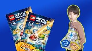 Lego Nexo Knights 2017 - комбо щиты 2017 года 70372 –Щиты для сканирования Игра и Мультики для Детей