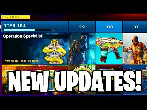 Black Ops 4 Season 4! New Specialist + Game Updates (BO4 1.17)