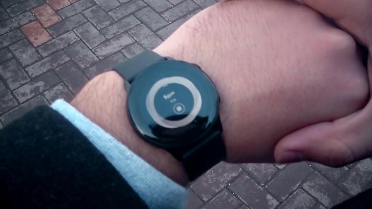 593e1453 Обзор на умные часы Samsung Galaxy Watch Active - YouTube