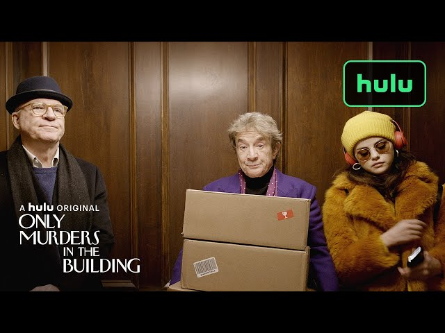 Only Murders in the Building Date Announcement (Official)   A Hulu Original