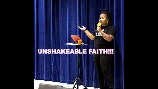 Unshakable Faith | E Callicutt