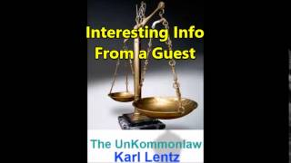 030 - Karl Lentz  -  Interesting Info From a Guest