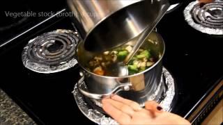 Vegetarian Soup Recipe : Vegetarian Tortilla Soup :quick, Easy Healthy Soup Recipe