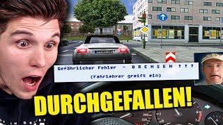 FAHRSCHUL-PRÜFUNG KOMPLETT VERKACKT! ✪ 3D FAHRSCHUL-SIMULATOR