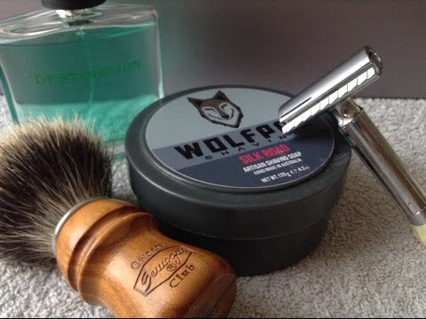 The Second Of My Soap Reviews - My Thoughts On Wolfpac Shaving Silk Road
