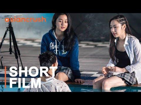 Korean all-girl gang bullies the new girl hiding a scandal | Korean Short Film thumbnail