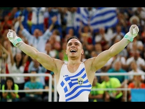Eleftherios Petrounias WINS GOLD MEDAL MEN'S RINGS ...