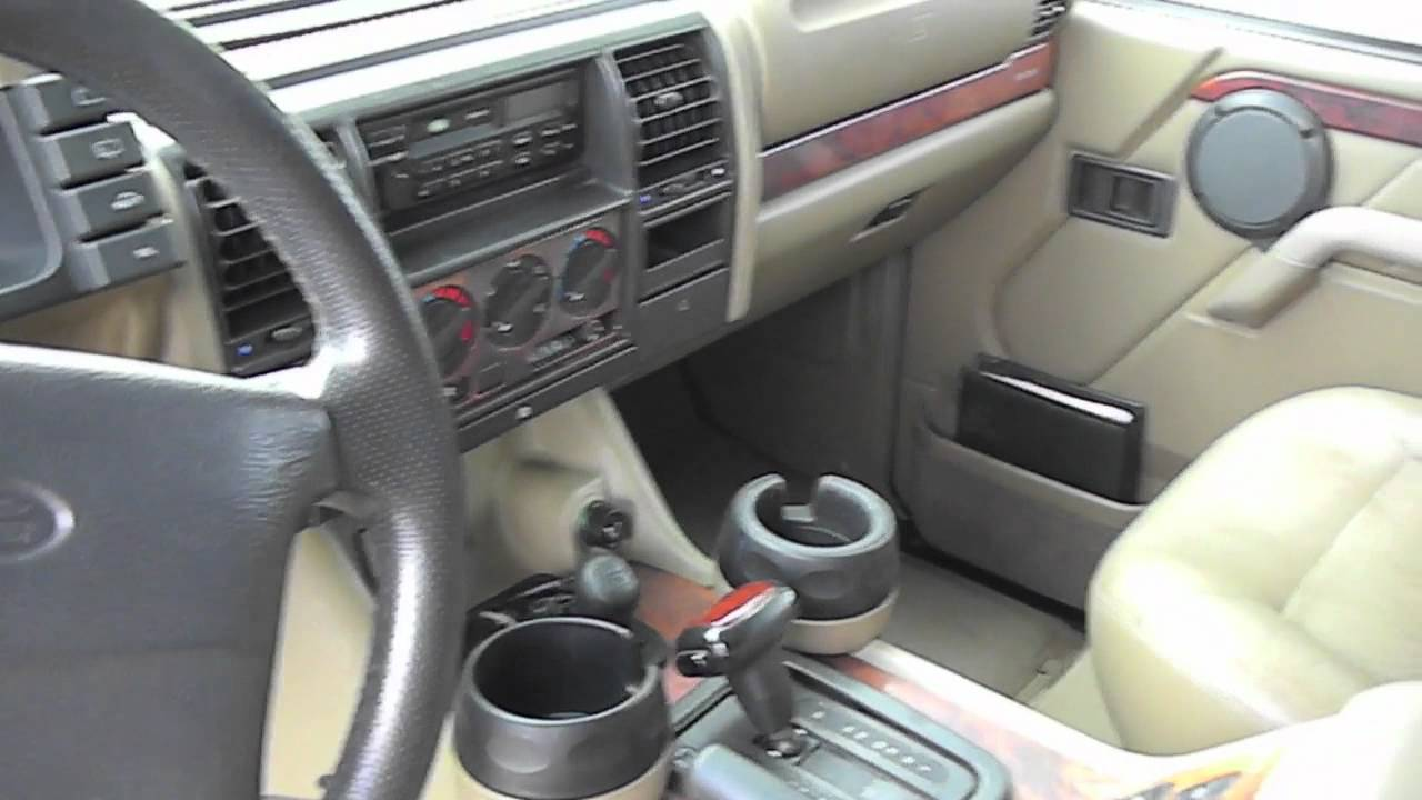 1998 Land Rover Discovery Youtube