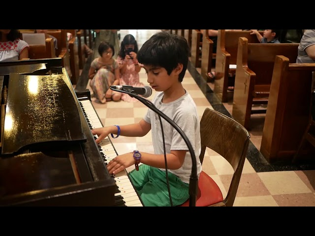 Kian Spring Recital June 2019