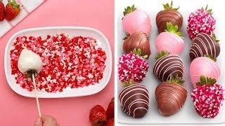 10 Best Strawberry Cake Decorating Tutorials | So Yummy Cake Decorating Ideas You'll Love