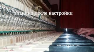 Чисте звучання піаніно радянського виробництва. Налаштування піаніно та роялів в Києві і області.