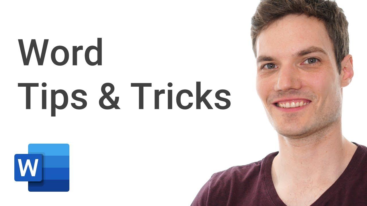 Top 20 Microsoft Word Tips & Tricks