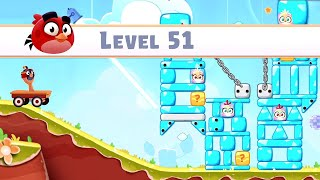 Angry Birds Casual Walkthough Level 51-60 (iOS Android Gameplay)