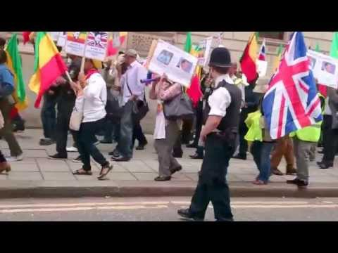 The 05 September 2014 London Demonstration that Calls the UK to Put Pressure on TPLF