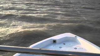 Nautic Star 214 XTS boat rough water performance in Port Mansfield, Texas
