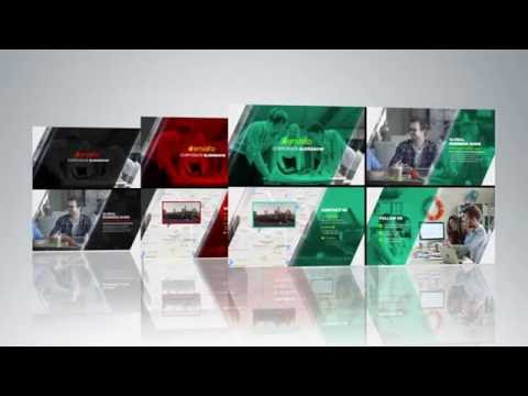 free after effects template 03 - corporate presentation - youtube, Presentation templates