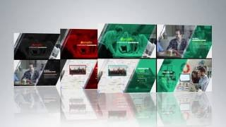 Free after effects template 03 - Corporate Presentation
