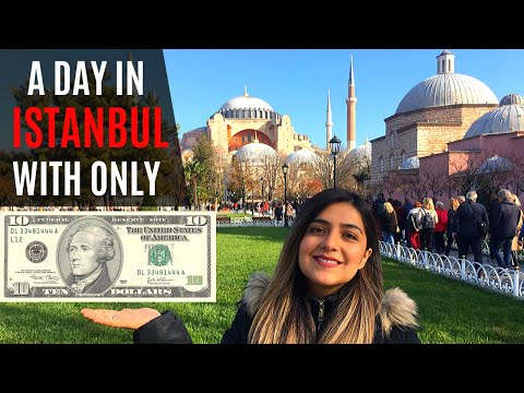 A Day in Istanbul with 10 USD | ISTANBUL ON A LOW BUDGET