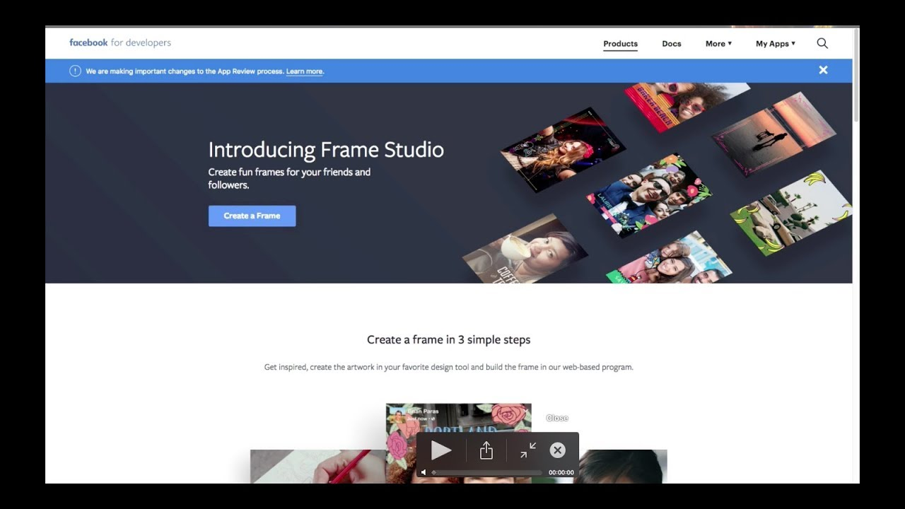 Creating a Profile Frame for Facebook