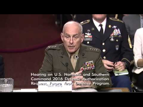 Gen. John Kelly: Latin American Smuggling Networks Could Facilitate ISIS Entrance into U.S.