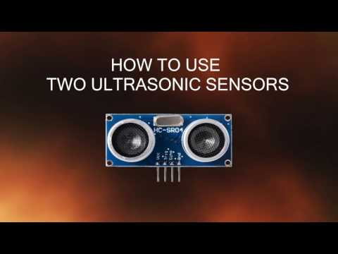 How to use two Ultrasonic sensors with Arduino