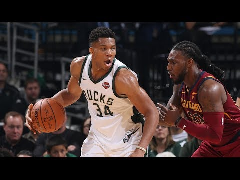 Giannis Antetokounmpo Highlights vs Cavaliers || MIL @ CLE || Fri, Oct 20, 2017