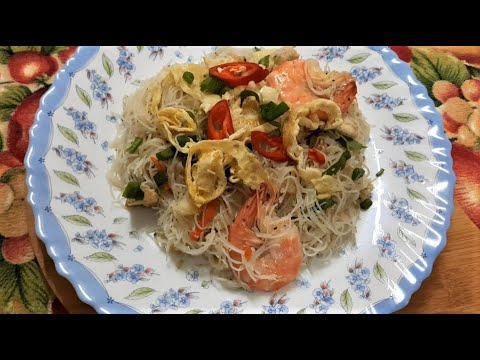 bihun-goreng-singapore- -mudah-dan-cepat