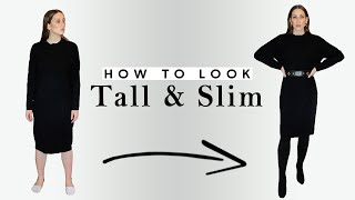 10 Outfit Ideas to Look Taller & Slimmer INSTANTLY | Style Tips for All Women