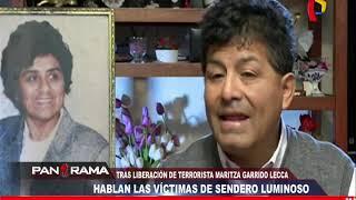Tras liberación de Maritza Garrido Lecca: hablan víctimas de Sendero Luminoso