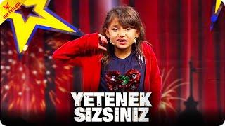 Elif Yarenin Muhteşem Enerjisi 😂  Yetenek Sizsiniz Türkiye