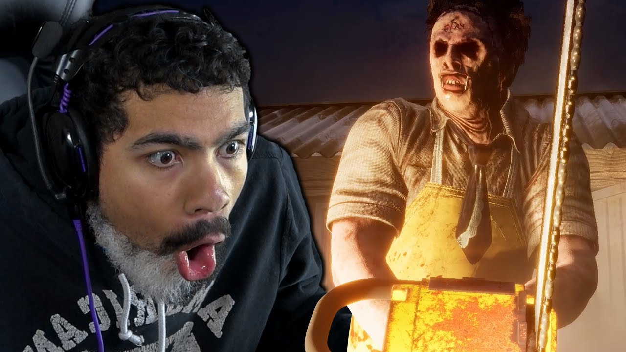 RUNNING FROM LEATHERFACE!!   Texas Chain Saw Massacre (The Horror Game)