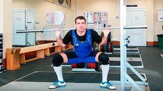 Приседания со штангой сумо / плие: техника выполнения