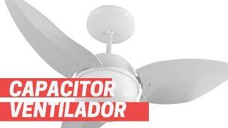 Como Funciona o Capacitor do Ventilador de Teto (Apostila na Descrição)