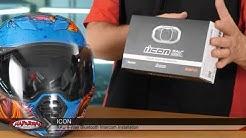 ICON Motorsports RAU BLUETOOTH Helmet Communication Step by Step Installation