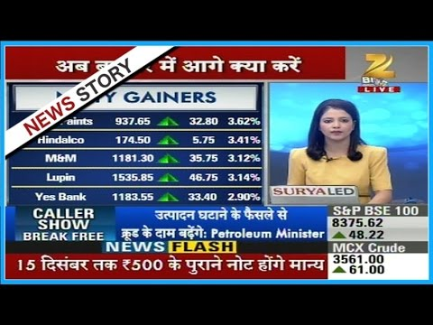 Buy in midcap and small cap stocks, Nifty closed above 8100 levels