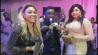 Mercy Aigbe &Kemi Afolabi Shows Off Their Adorable Legwork At Zanzee's 40th Birthday Party