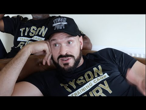 DO YOU REALLY WANT IT? -TYSON FURY RAW AT HOME! ON AJ, WILDER, HONEST ON WHYTE, HEARN, RACISM, TOP 6