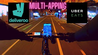 Working for UberEats and Deliveroo At The Same Time - Tips and Tricks of Multi-Apping!