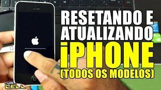 Como resetar e atualizar o iPhone (todos os modelos) ATUALIZADO #UTICell