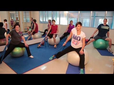 Упражнения при шейном остеохондрозе в домашних условиях: видео