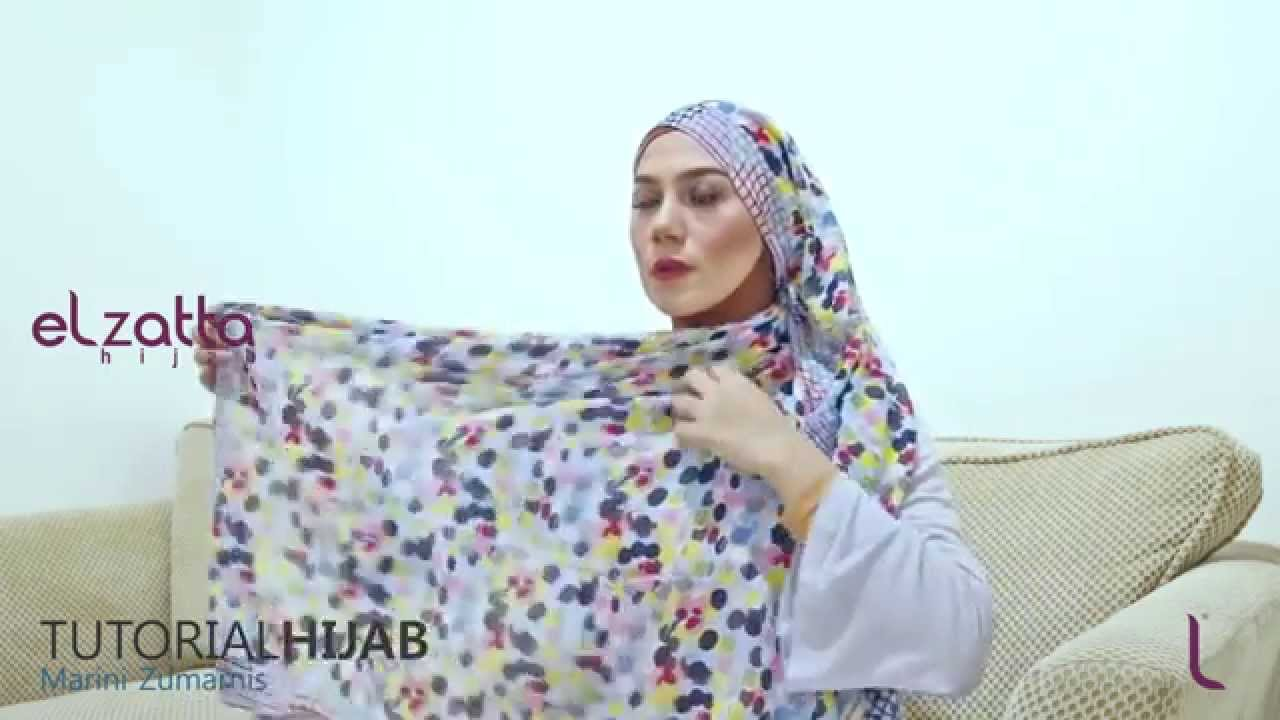 Hijab Tutorial Marini Zumarnis Elzatta Hijab Ramadhan 1436 H