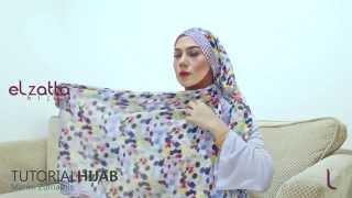 [Hijab Tutorial] Marini Zumarnis - elzatta hijab - Ramadhan 1436 H