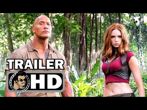 Thumbnail: JUMANJI 2: WELCOME TO THE JUNGLE Trailer Announcement (2017) Dwayne Johnson Action Movie HD