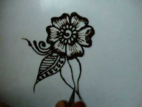 how-to-draw-floral-henna-design-for-beginner